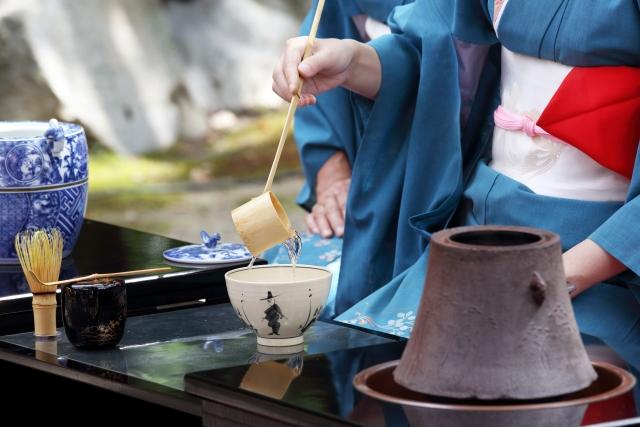 着物の種類【お茶席での色無地】