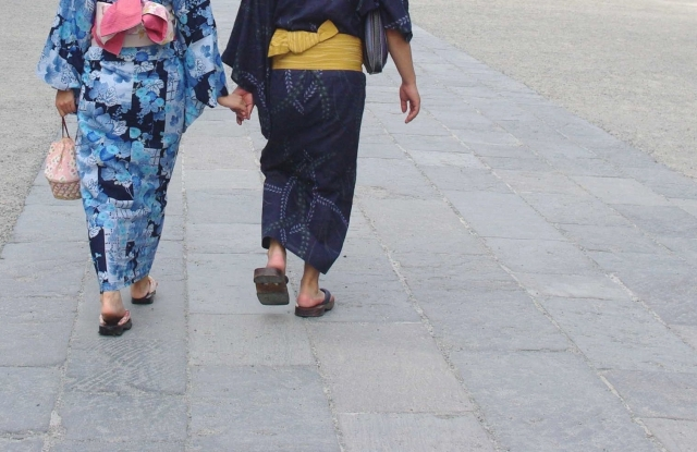 着物における男女の違い【種類の数が違う】