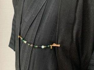天然石の羽織紐①