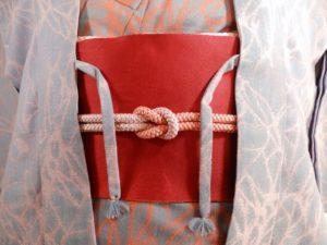 同布の羽織紐