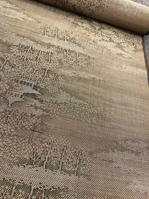 泥染の大島紬