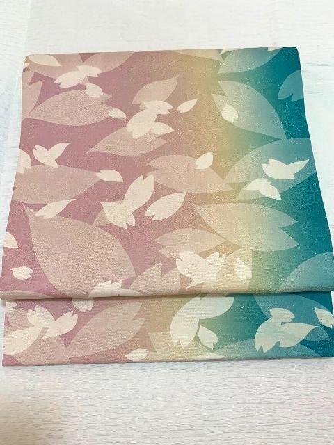 染めの袋帯