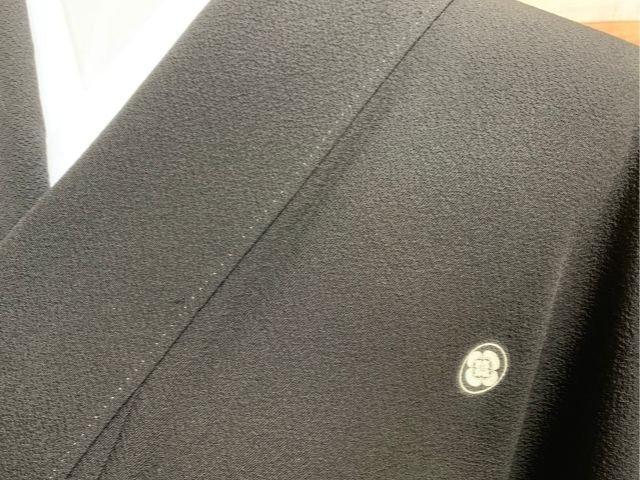 黒紋付黒門月紋